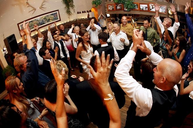 having fun at wedding reception.jpg