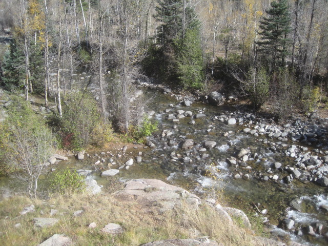 Confluence of Cascade and Lime Creeks